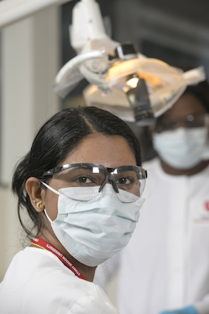 Student of Stony Brook School of Dental Medicine's Dental Assistant Program