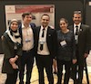 Stony Brook School of Dental Medicine's Faculty and Residents of the Oral and Maxillofacial Radiology Program: Dr. Mina Mahdian, Dr. Ryan Holmes, Dr. Jalal Bukhair, Dr. Maryam Ajami, and Dr. Dan Colosi