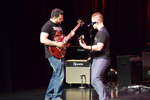 Rocking out at the 2018 SDM Talent Show