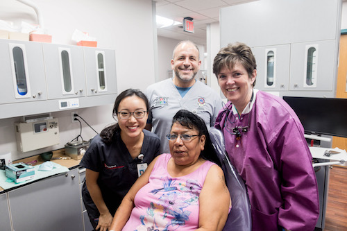Stony Brook School of Dental Medicine Students, Faculty and Staff Provide Care in Pine Ridge, South Dakota