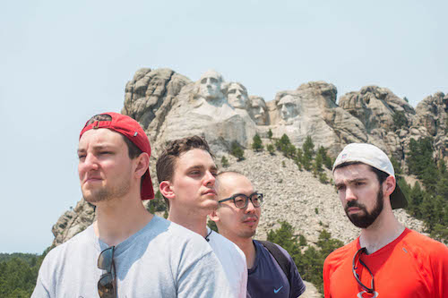 Stony Brook School of Dental Medicine Students at Mount Rushmore
