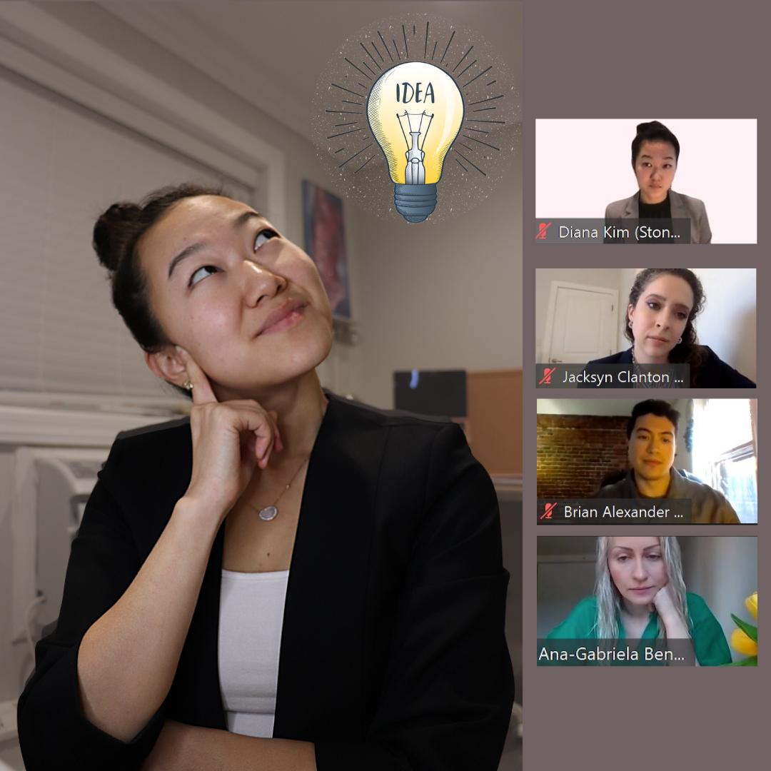 "Diana Kim participates in virtual ""I Have an ADEA"" event."