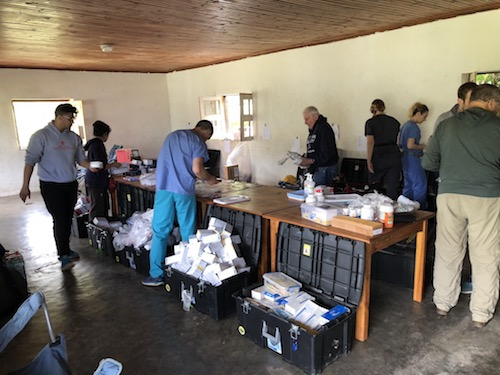 Stony Brook School of Dental Medicine Sets up Make-shift Clinic in Remote Village in Madagascar