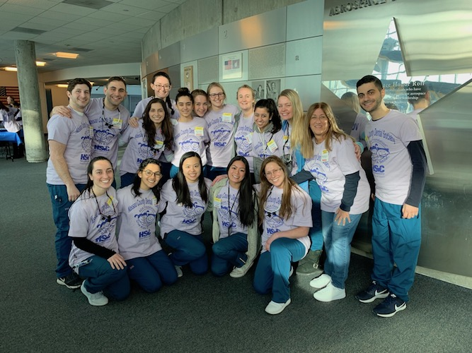 Stony Brook School of Dental Medicine Students and Faculty at Give Kids A Smile Event in Garden City, New York