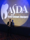 Year IV Student Igor Lantsberg Wins ASDA Gold Crown Award