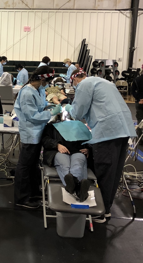Stony Brook School of Dental Medicine Students Provide Care in Gloucester, VA