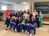 Stony Brook School of Dental Medicine team of students, faculty, and clinical staff at the Southold Recreation Center.