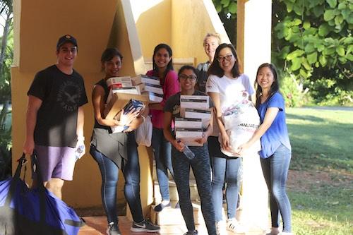 Stony Brook School of Dental Medicine Students Provide Oral Health Treatment in La Romana, Dominican Republic