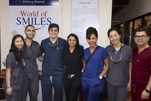 Stony Brook School of Dental Medicine Students in La Romana