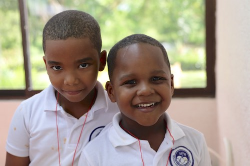 Students in La Romana, Dominican Republic, Receive Free Dental Care Through World of Smiles Inc. and Stony Brook School of Dental Medicine