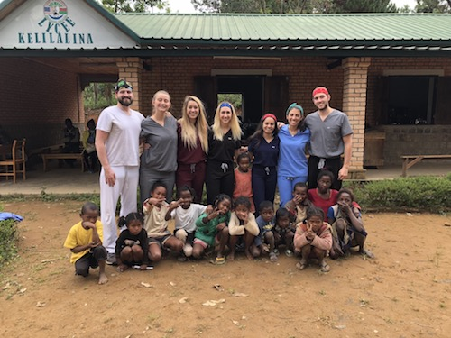 Stony Brook School of Dental Medicine Students on Outreach Mission in Remote Village of Madagascar