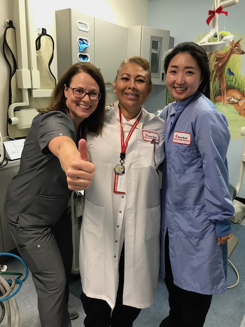 Members of Stony Brook School of Dental Medicine's Staff and Residency Program at Its Annual Give Kids A Smile Event