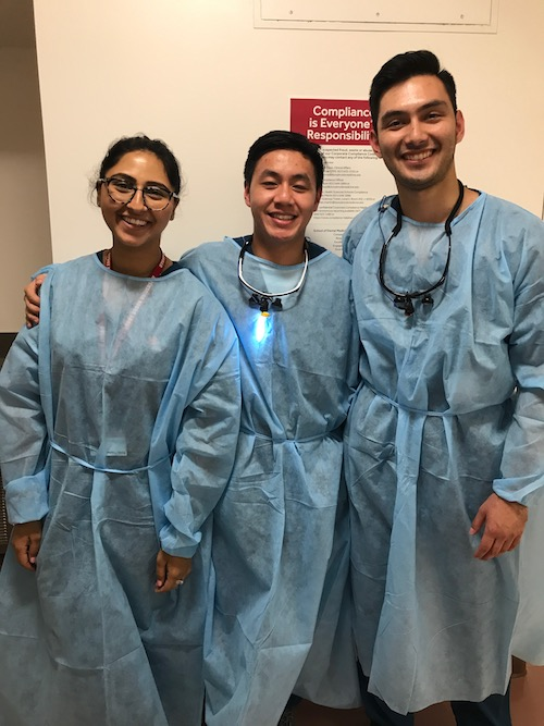 Stony Brook School of Dental Medicine Students at Its Annual Give Kids A Smile Event