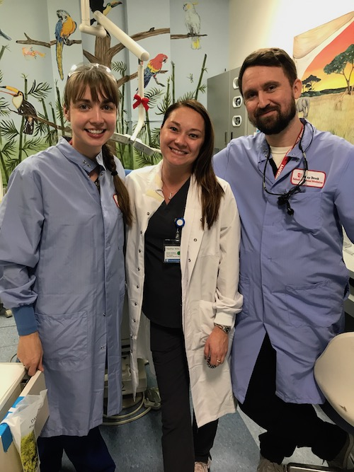 Stony Brook School of Dental Medicine Residents and Staff Members Contributed to Successful, Free Oral Health Treatment of Over 150+ Children