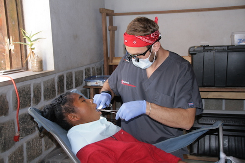 Stony Brook School of Dental Medicine Student, Brandon Gruffi, Provides Care in Madagascar