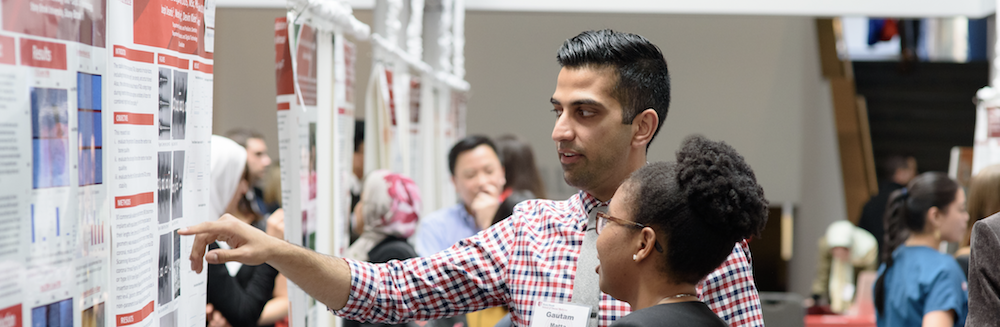 Students at Stony Brook School of Dental Medicine's Annual Research Symposium