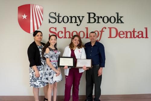 2018 Dental Assistant Graduate Lisbeth Hernandez and Family