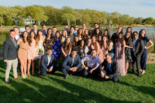 SDM Class of 2018 at the Senior Celebration Dinner in Setauket