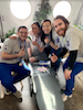 Stony Brook School of Dental Medicine Students at Give Kids A Smile Event in Riverhead, New York