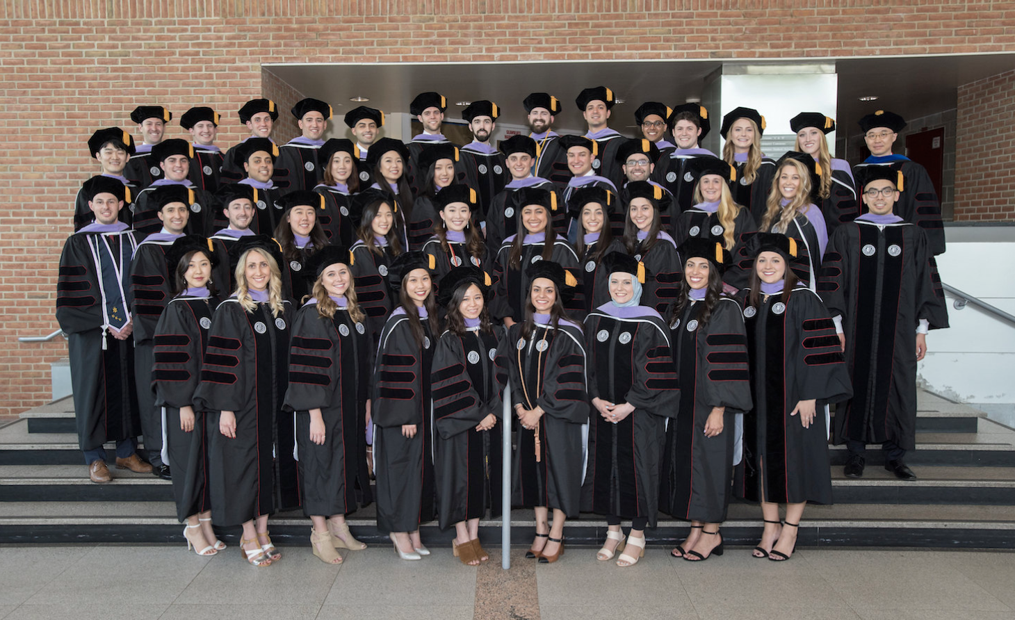Stony Brook University School of Dental Medicine Class of 2019 Official Convocation Ceremony Class Photo