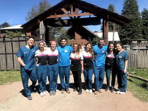 Stony Brook School of Dental Medicine team visited Neltume, Chile, to provide dental care.