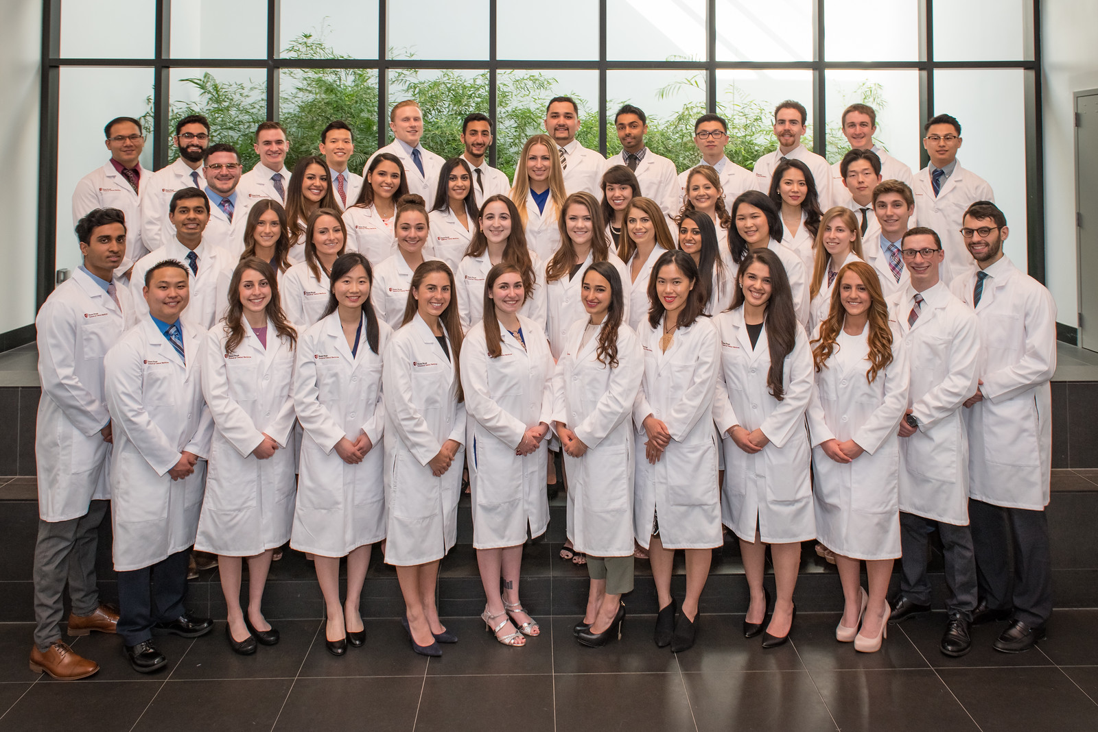 Stony Brook University School of Dental Medicine's Class of 2021 at their White Coat Ceremony