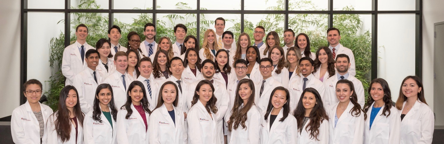 Stony Brook School of Dental Medicine's Class of 2022 at the 2019 White Coat Ceremony